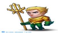 亚特兰蒂斯之王《小冰冰传奇》DC正版授权海王登场